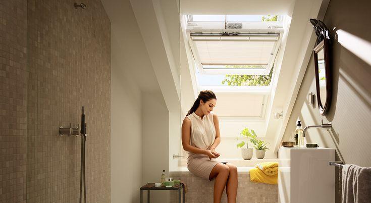 Idéer til badeværelset - få masser af dagslys og frisk luft