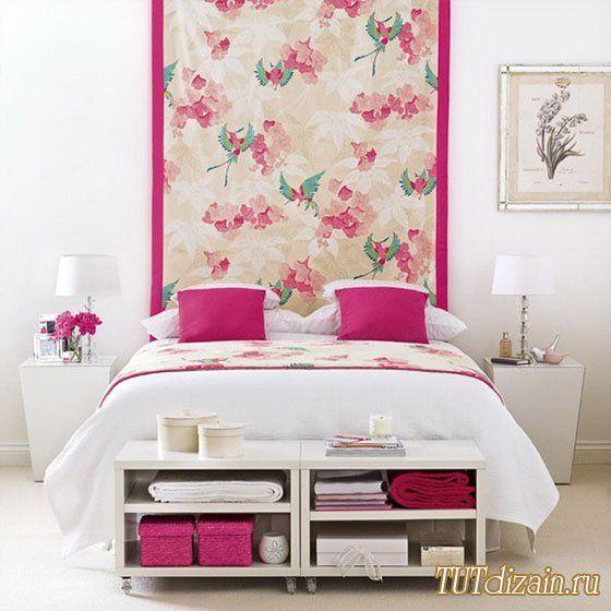 Идеи декора изголовья кровати + Фото » Дизайн & Декор своими руками