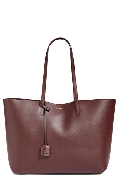 Saint Laurent 'Shopping' Leather Tote available at #Nordstrom