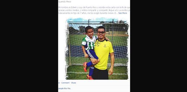 Carta de un padre boricua a Lionel Messi