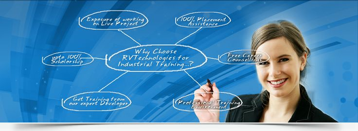 Why to choose only RV Technologies for Industrial training is a big question. So here is your answer for it..