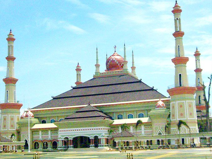 Grand Mosque in Semarang, Indonesia
