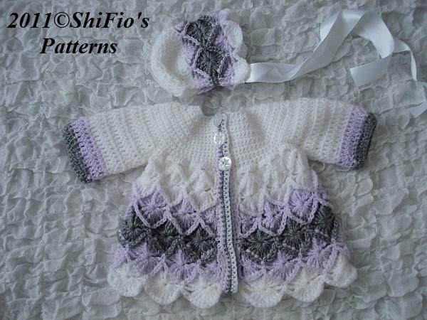 Baby Jacket Bavarian Crochet Pattern 177 I have made this jacket