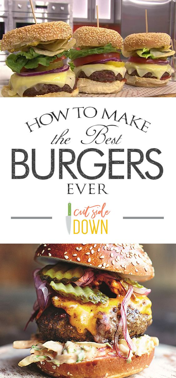 How To Make The Best Burgers Ever Food Foodblogger Foodblog Recipe Recipes