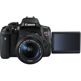 Buy Canon EOS 750D Rebel T6i DSLR Camera with EF-S 18-55mm f/3.5-5.6 IS STM Lens Kit Multi-language online at Lazada. Discount prices and promotional sale on all. Free Shipping.