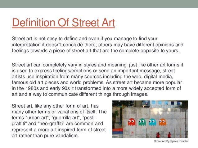 Essay About Street Art - Specialist\u0027s opinion Essay Helper Pinterest