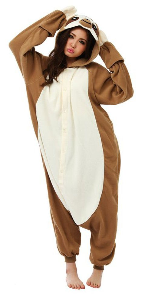 Do you need a sloth costume or a sloth outfit for a fancy dress party? Do you want to go as a giant sloth for Halloween? Do you need to find yourself a sloth onesie to snuggle up in at night or on the couch? Honestly, you don't even need a reason... http://all-things-sloth.com/3-sloth-costumes-you-cant-turn-down/
