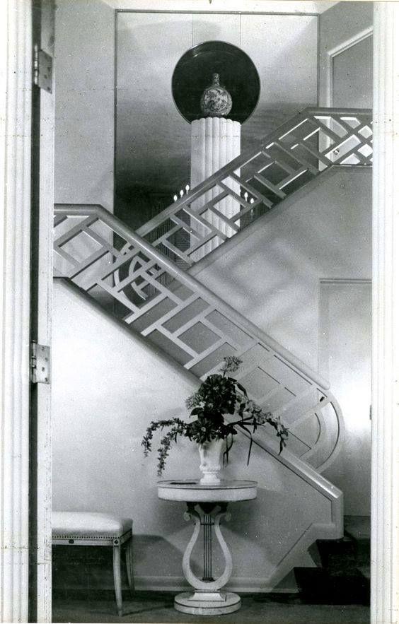 Art Deco Decor In The Muncie Wilkinson House, Indiana