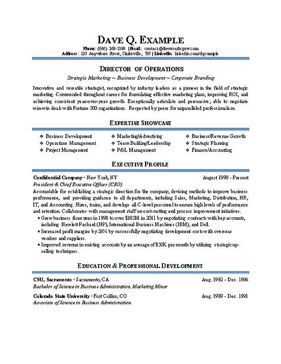 Resume Examples Operations Manager Resume Examples Pinterest