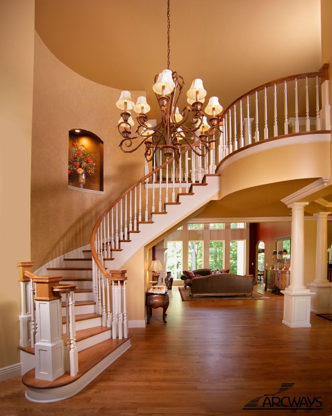 567 Best Staircase Ideas Images On Pinterest: Best 25+ Curved Staircase Ideas On Pinterest