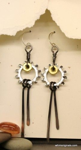 Industrial Chic : Hardware Jewelry by Whim Originals - The Beading Gem's Journal