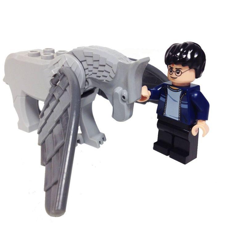 "MinifigurePacks: Lego® Harry Potter Bundle ""Hippogriff 'Buckbeak' & Harry Potter"""