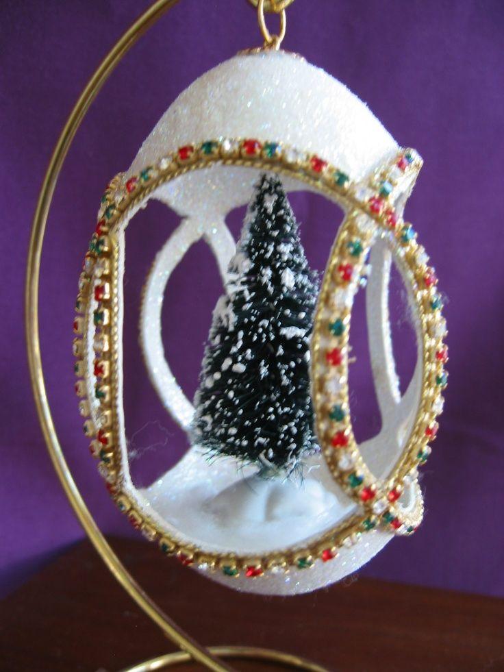 78 Best Egg Shell Ornaments Images On Pinterest Egg