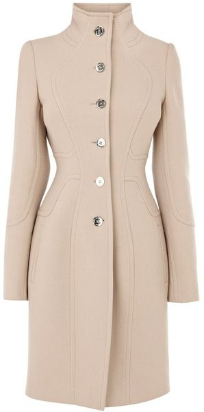 Karen Millen Coat with Stitching Detail -