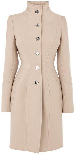 Karen Millen Coat with Stitching Detail -