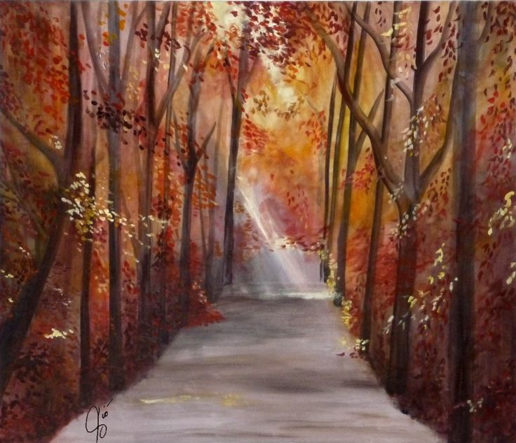 viale alberi