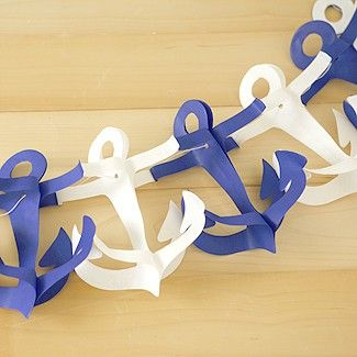 Anchor Garland - for all my friends who are DGs! @Katherine Ciejek