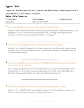 Civics worksheet with answers - Civics and Economics Name _ ...