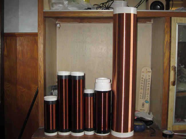 Bobine tesla (générateur) bobine secondaire pour tesla bobine diamètre 110mm hauteur 50 cm