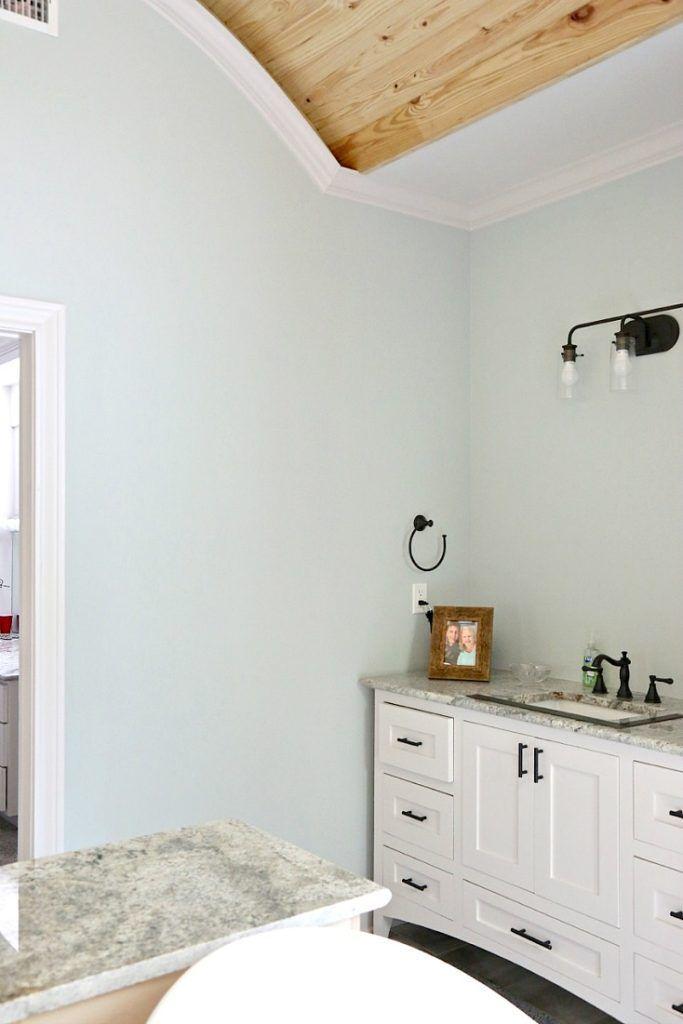 Bathroom Paint Color Is Sea Salt Sherwin Williams