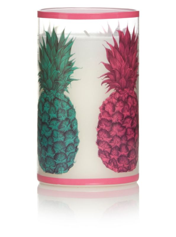 George Home Prince's Trust Pineapple Wax Fill Candle - £7