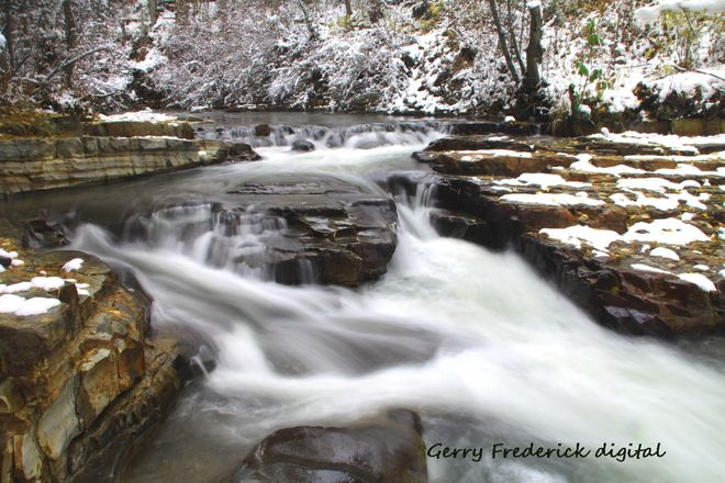 Marysville Falls- Cranbrook BC Beautiful, easy day hikes around this area.
