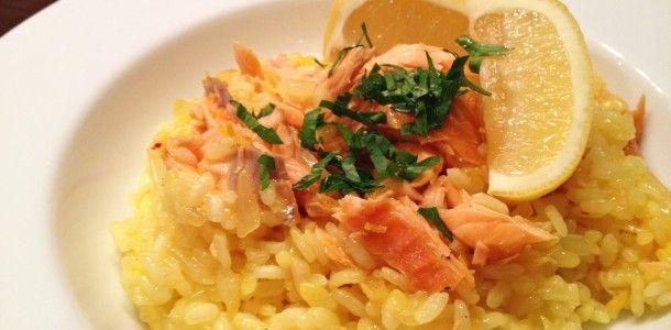 risotto met zalm