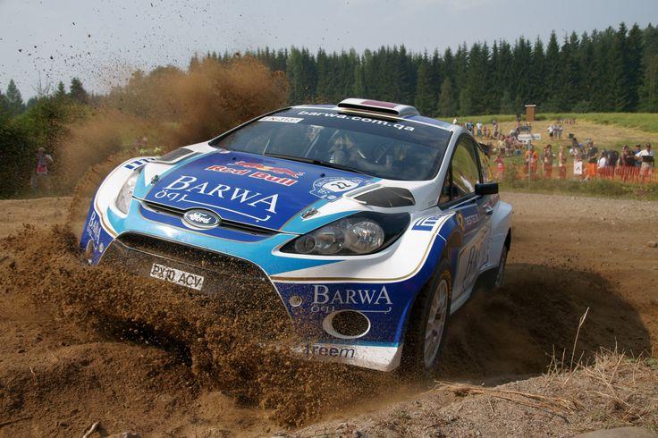 2010 Neste Oil Rally Finland Nasser Al-Attiyah Ford Fiesta S2000