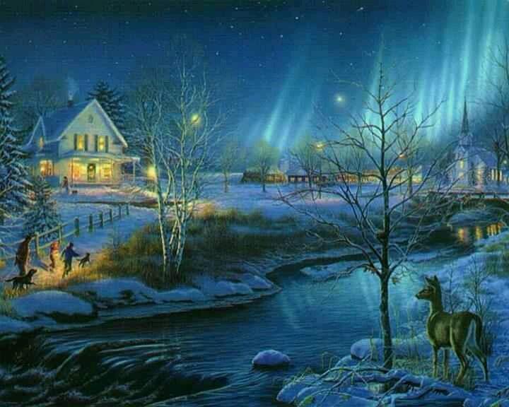 Pinterest 상의 Christmas scenes에 관한 상위 80개 이미지