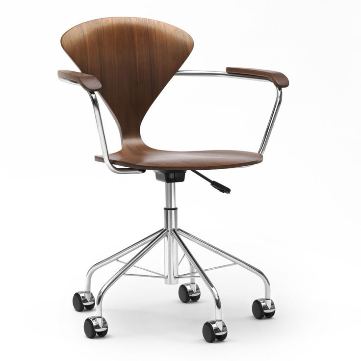norman cherner task chair the new cherner swivel base task chair is a further development of the classic molded plywood cherner chair