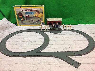 Vintage-ERTL-Thomas-The-Train-Freinds-Turntable-Playtrack-Set