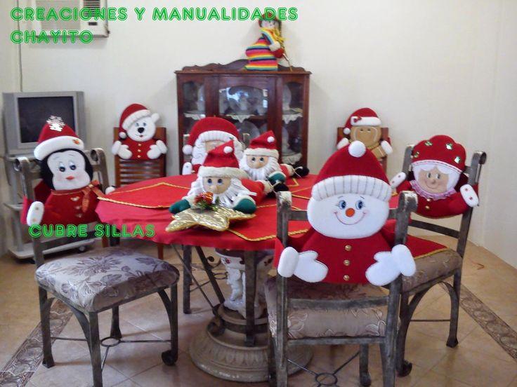 """Creaciones y Manualidades """"Chayito"""": moldes cubre-sillas"""