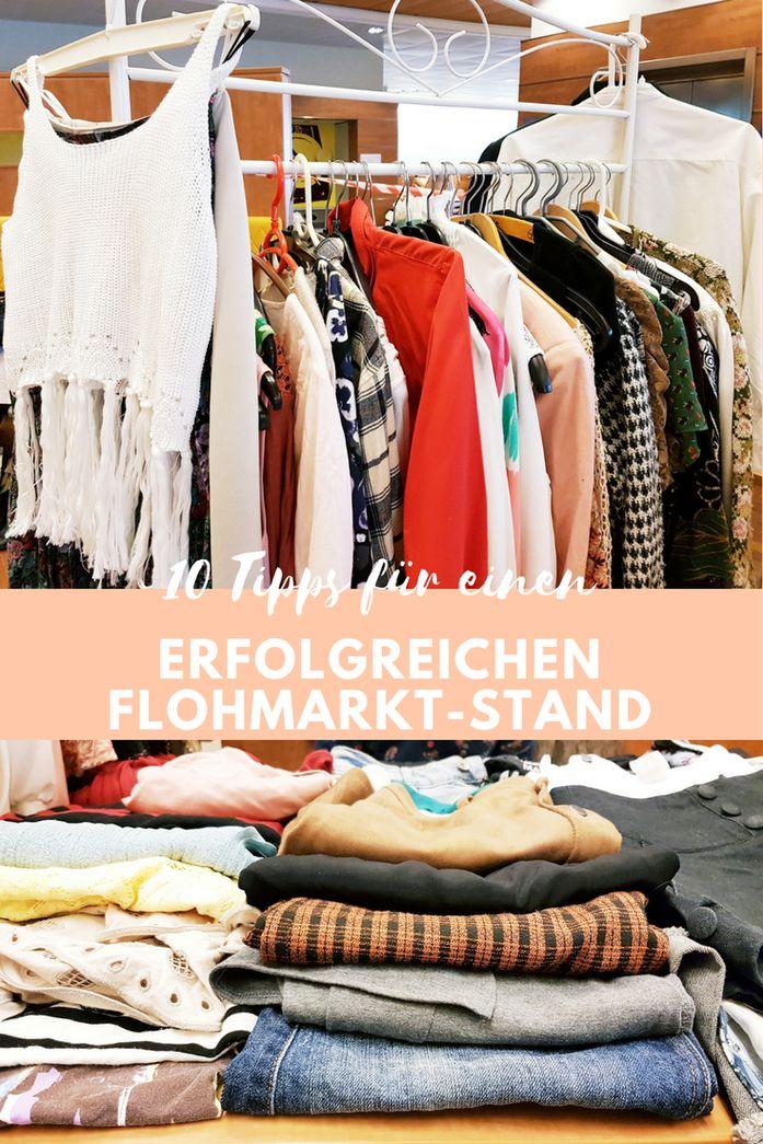 10 Tipps für einen erfolgreichen Flohmarkt-Stand: So verkauft ihr gut auf dem Trödel. Kleidung erfolgreich auf dem Flohmarkt verkaufen