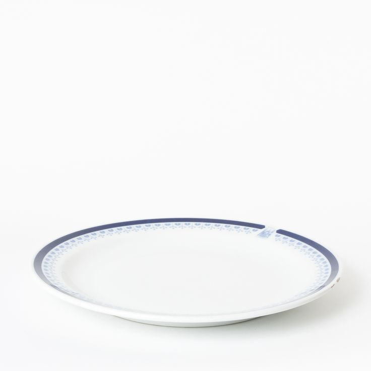 Cobalt decorated porcelain plate with Hotel Praha logo. Made by Glass Benedict manufacture. Dishwasher safe, detergent proof.   Designed specifically for Hotel Praha, this item is uniquely for sale at Nanovo Shop (Tynska ulicka 8, Prague 1, Czech Republic).   www.nanovo.cz/en
