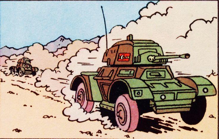Stock de Coque - Vehículo de ruedas blindado británico Daimler Mk I