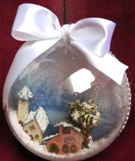 Idee fai da te a decoupage e non solo...A tutti Buon Natale...