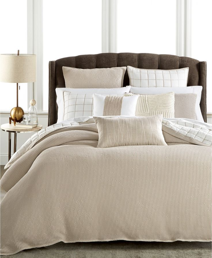 Hotel Collection Waffle Weave Bedding Collection, Created