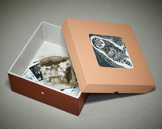 Massive paper box with own designed graphic. by BOXdgn on Etsy