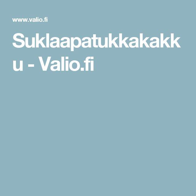 Suklaapatukkakakku - Valio.fi