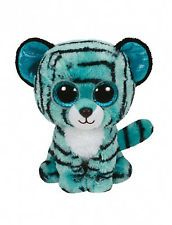 "Ty Beanie Boos - TESS the Justice Exclusive Tiger ~ 6"" ~ 2015 NEW"