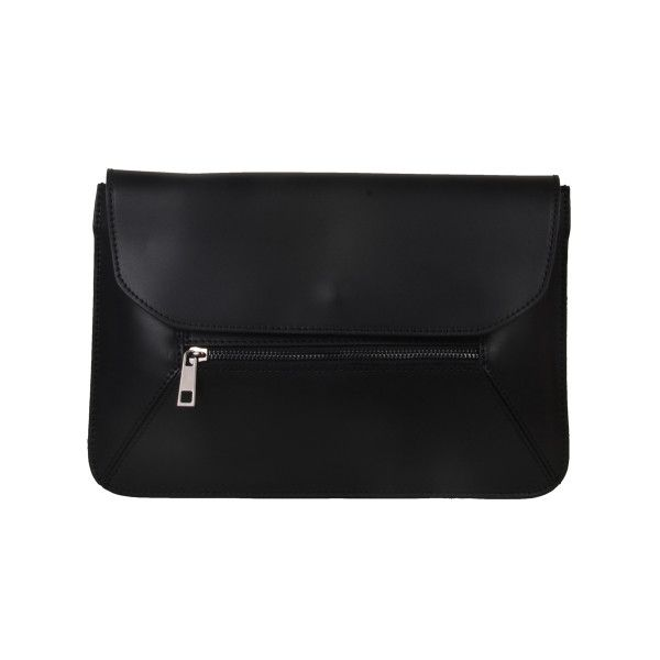 Olivia Black Clutch Bag