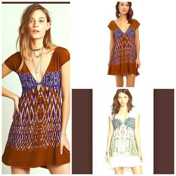 Free People Cocktail Dress NWT NWT AND ADORABLE  Babydoll style hi lo dress  Free People Dresses