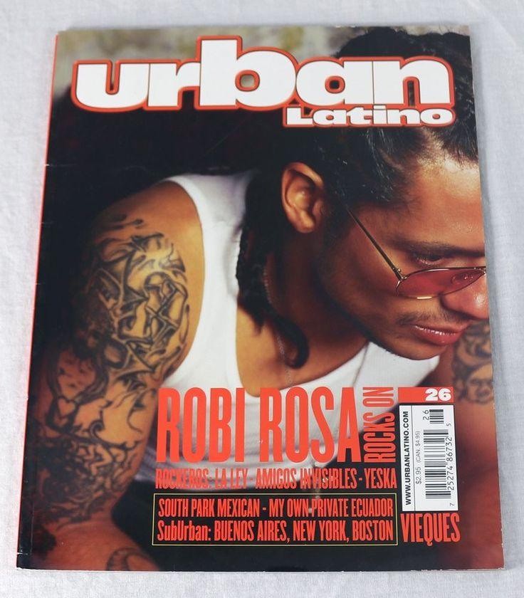 Urban Latino Magazine March 2000 Robi Rosa Yeska South Park Mexican New Rare OOP