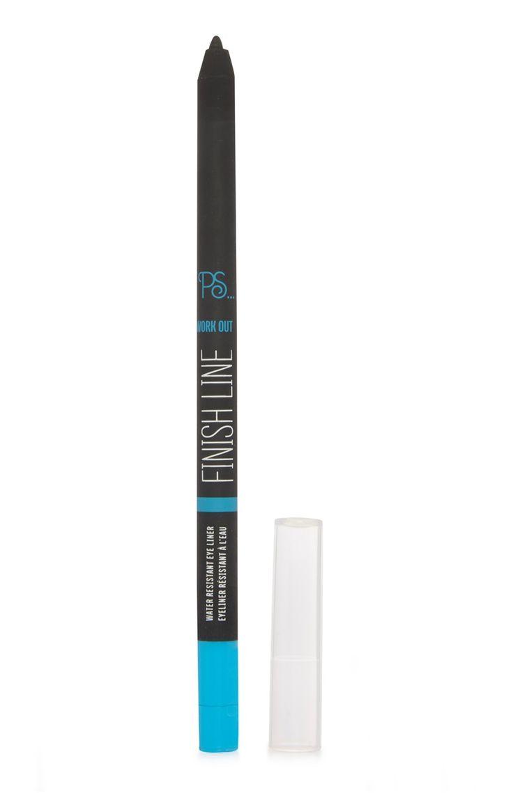 Blauwe eyeliner waterproof