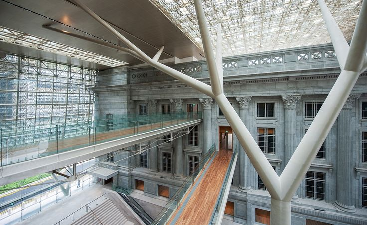 National Gallery Singapore  Designed by the French architecture firm Studio Milou