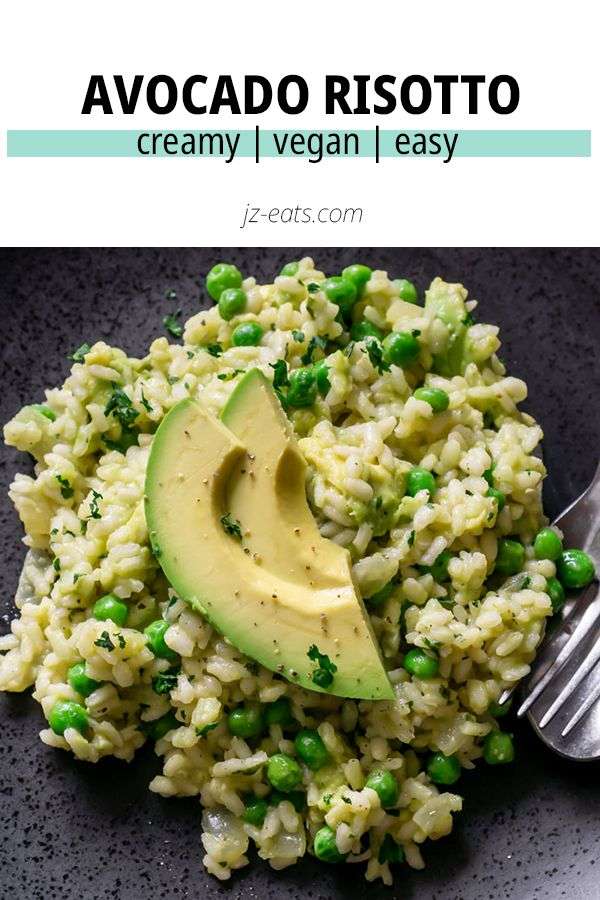 Jul 12, 2020 – Avocado Risotto is so creamy and delicious you'd never know it was vegan AND gluten free! It's made in on…