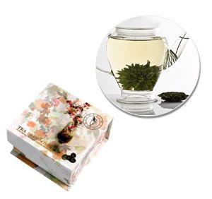 Teapot Balls (4) Floral Gift Box (Single Variety)