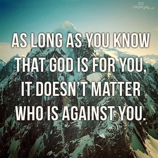 God Is For You! - Inspirations