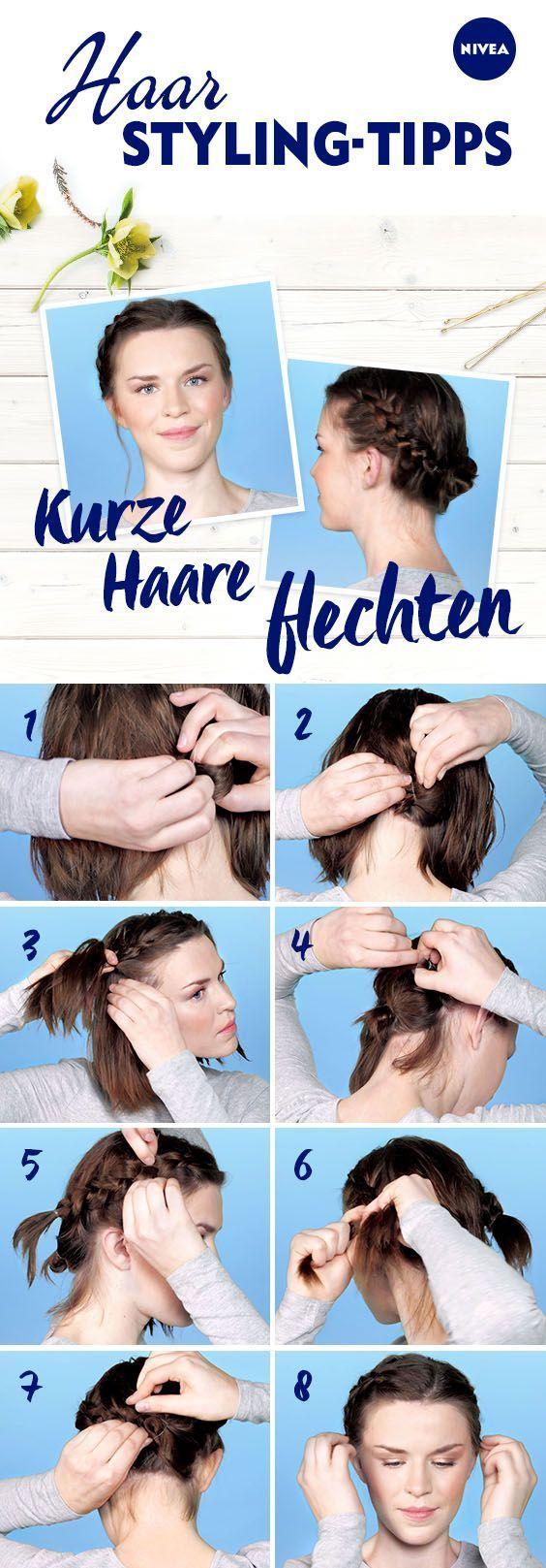 Kurzes Haar flechten ist nicht möglich? Und wenn: Mit diesen 8 Schritten erstellen Sie …