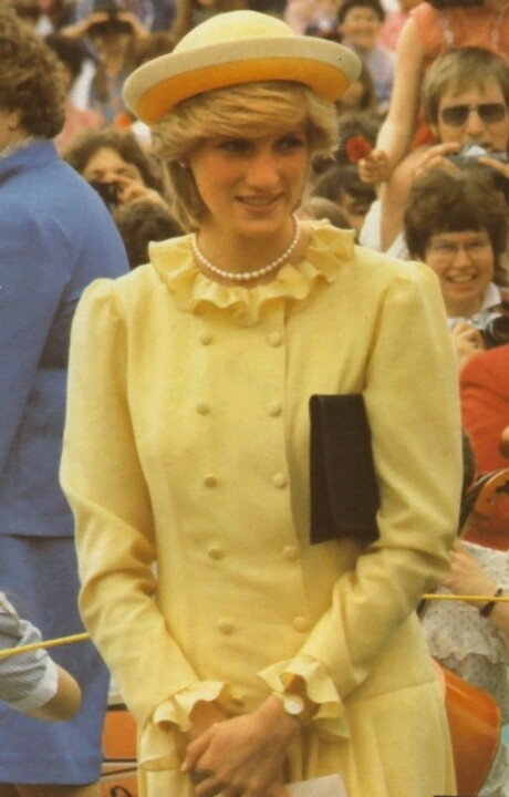 June 17, 1983: Princess Diana on a walkabout in Saint John, New Brunswick. (Day 4)